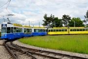 Ein BTB-Fahrzeug verkehrt auf dem BLT-Netz!